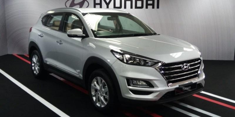 Hyundai Kenalkan Tucson facelift dan Mobil Listrik IONIQ
