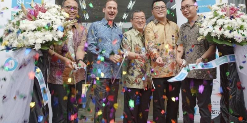 Awali 2020, Piaggio Indonesia Resmikan Dealer di Rawamangun