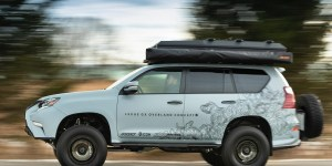 GX Overland Concept, Kendaraan Sempurna Bagi Penjelajah