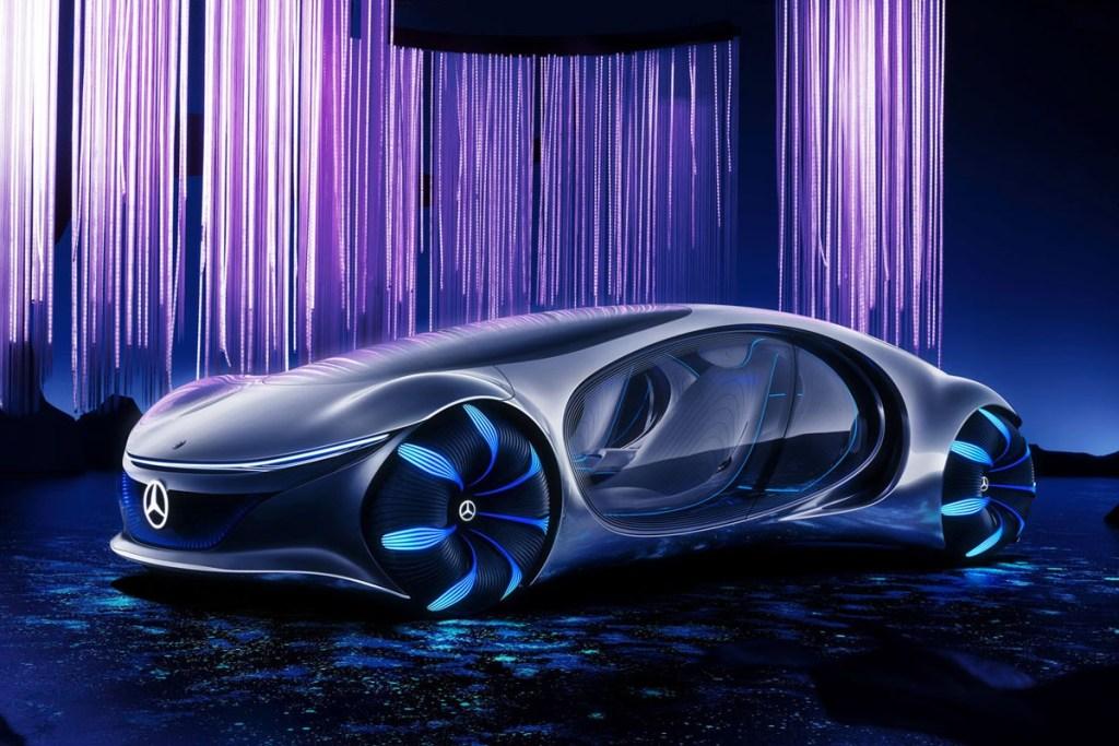 Mercedes-Benz Vision VTR Concept, Terinspirasi Blockbuster Avatar