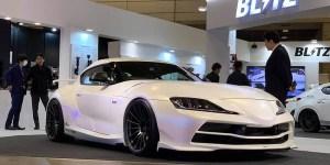 Modifikasi Unik Toyota Supra dari Blitz di Tokyo Auto Salon