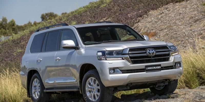 Toyota Land Cruiser Sahara Horizon, Hadiah Toyota Untuk Australia