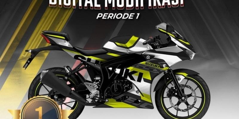 Inilah Wujud Keren Modifikasi Digital Suzuki GSX-R150