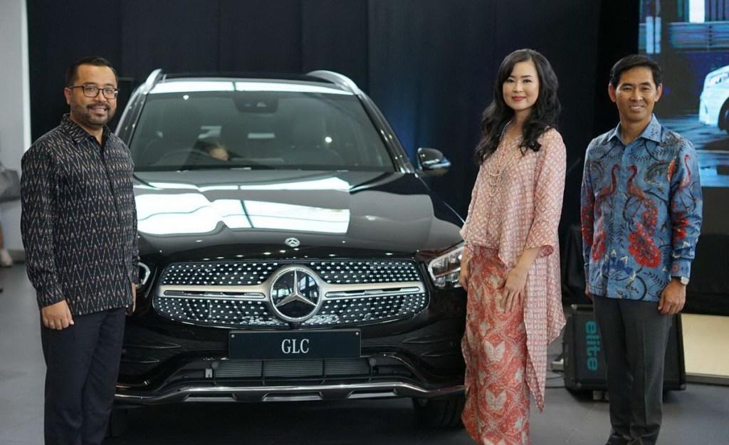 Peluncuran Perdana New A-Class dan New GLC di Palembang
