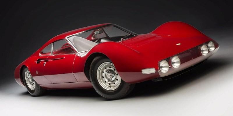 Konsep Retro Unik: Ferrari Dino Berlinetta Speciale 1965