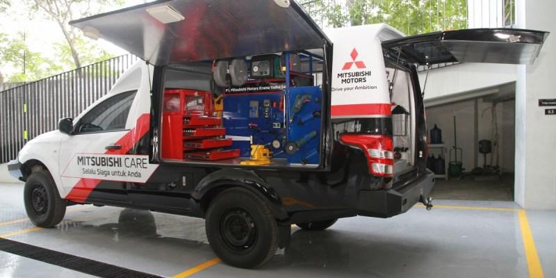 Mitsubishi Motors Siapkan Layanan Purnajual 24 Jam Siaga