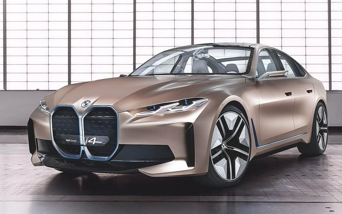 Resmi Dirilis, BMW Concept i4 Siap Diproduksi 2021
