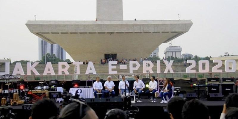 Ajang Formula E Jakarta Resmi Ditunda