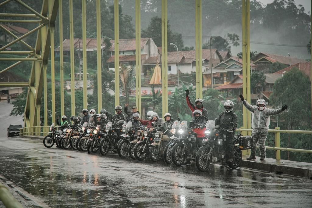 Keseruan Royal Enfield Tour of Indonesia edisi Ke-2