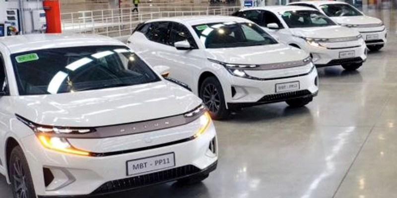 Byton M-Byte, SUV Listrik China Mulai Diproduksi