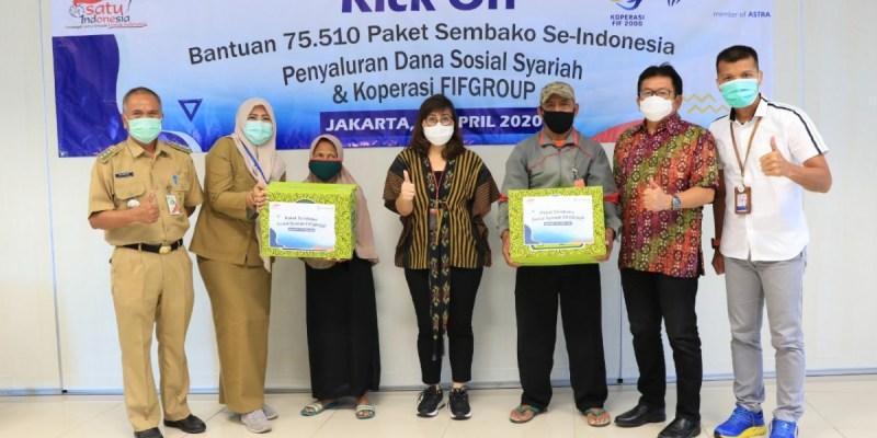 FIFGROUP Salurkan lebih dari 75.000 Paket Sembako