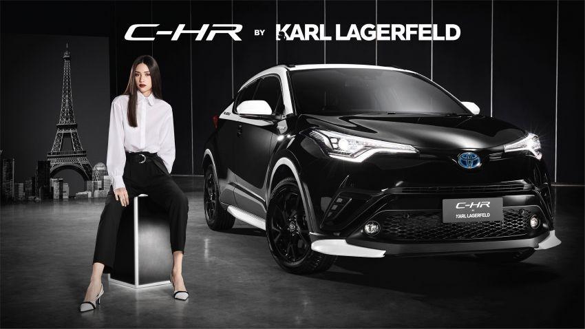 Toyota C-HR Edisi Khusus Karl Lagerfeld Meluncur, Tampil Lebih Elegan