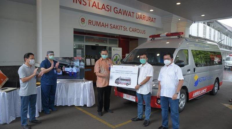 Astra Financial Donasikan Ambulance untuk Tangani Covid-19