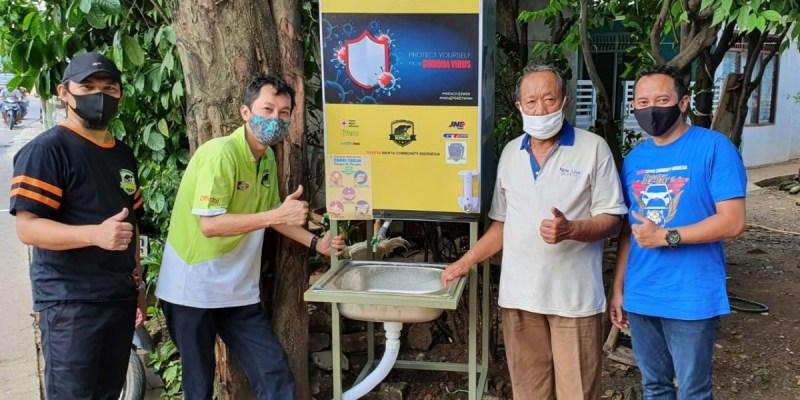 Aksi Sosial TOSCA Di Tengah Pandemi Covid-19