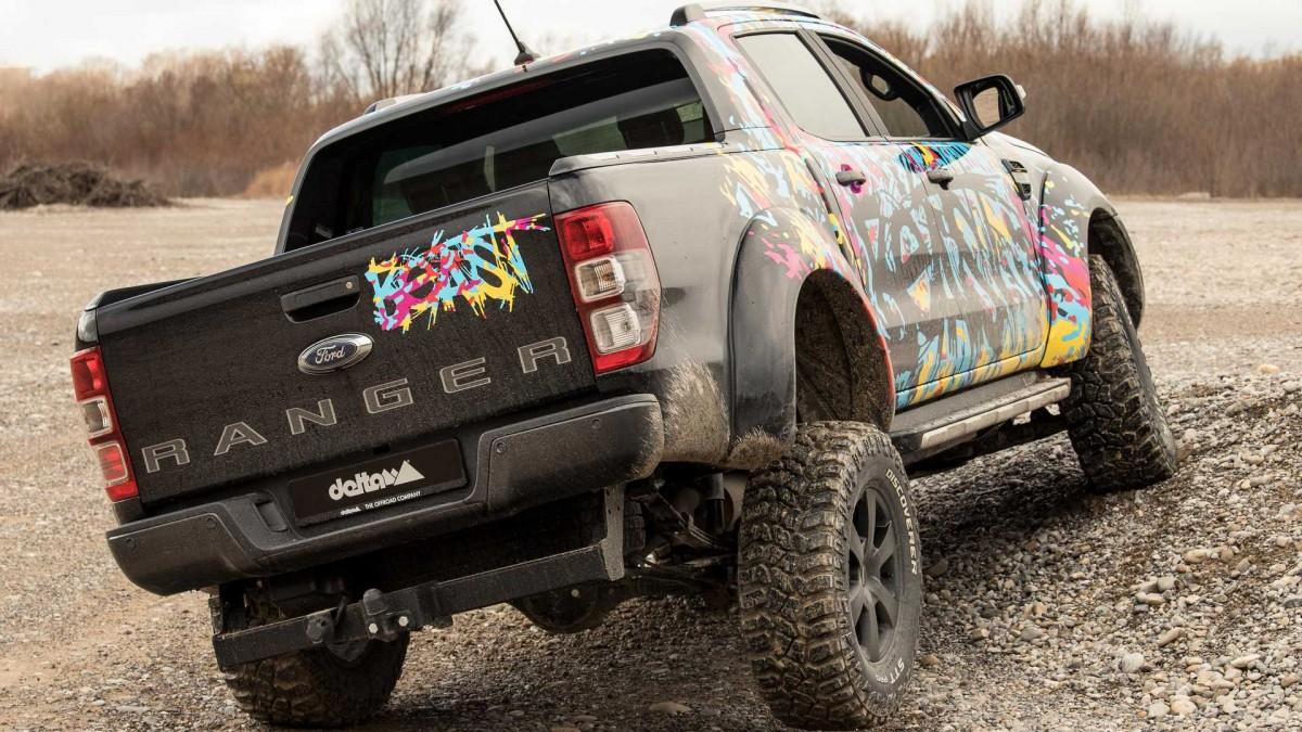 Ford Ranger Delta 4x4, Fokus Untuk Kaki-kaki