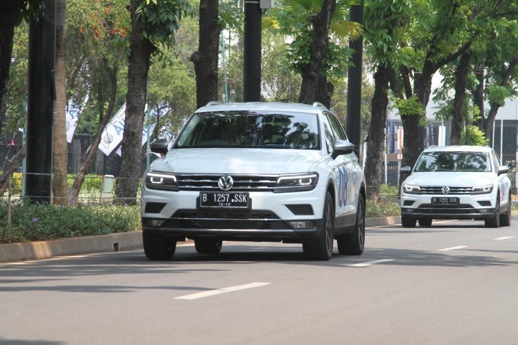 Jajal VW Tiguan Allspace Bisa Sambil Beramal, Begini Caranya!