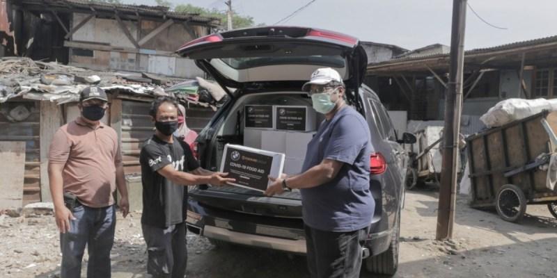 BMW Indonesia & BMW Eurokars, Bersama Salurkan Bantuan Bagi Masyarakat Terdampak Covid-19