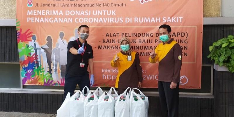 Daya Group Donasikan APD untuk Tenaga Medis dan Paket Sembako
