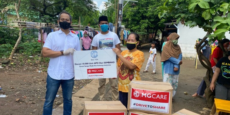 MG Motor Indonesia, Donasikan 10 Ribu APD Lewat Program MG Care #DrivetoShare