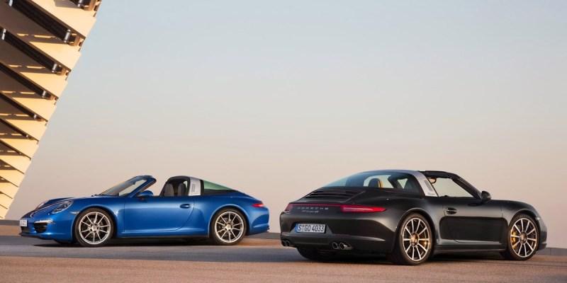 Sejarah Panjang Keluarga Porsche Targa