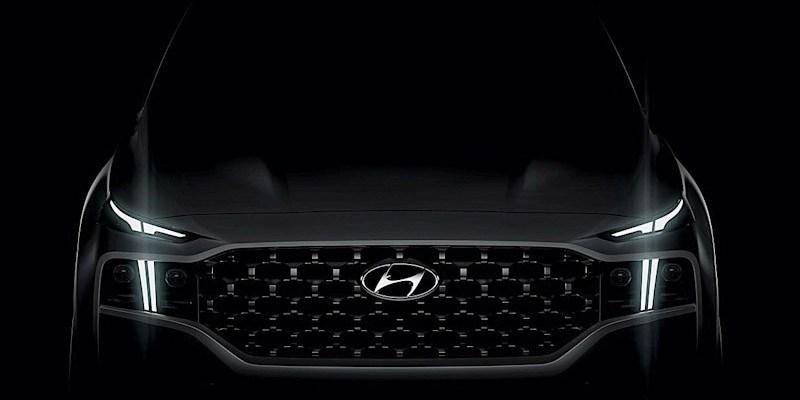 Hyundai Bocorkan Wajah Santa Fe Bertenaga Listrik
