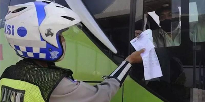 37.585 Kendaraan Ingin Masuk Jakarta Dipaksa Putar Balik