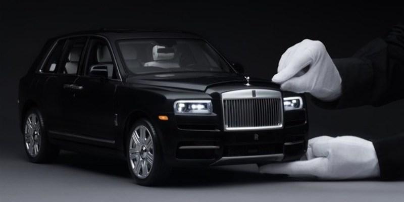 Rolls-Royce Merilis Diecast Seharga Rp 260 Jutaan