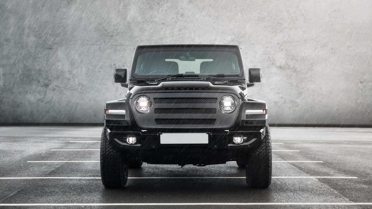 Sentuhan Inggris untuk Amerika, Jeep Wrangler Sterling Automotive