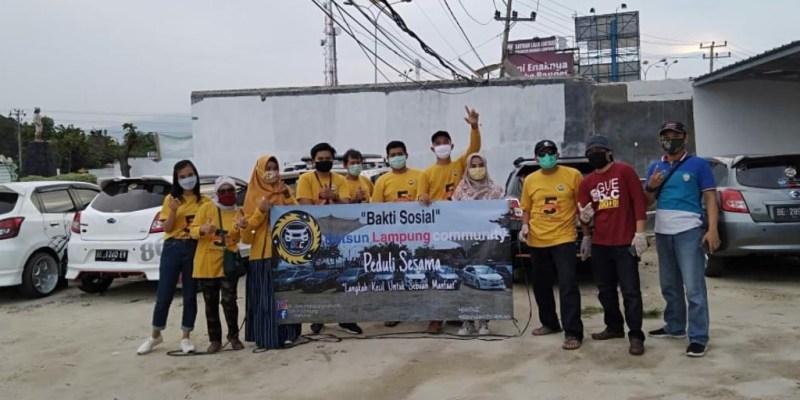 Datsun Lampung Community Peduli Covid-19 di Bulan Ramadhan