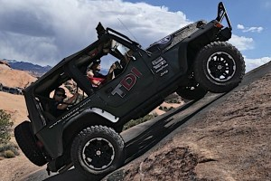 Kawin Silang Amerika Jerman, Jeep Wrangler & Volkswagen TDI
