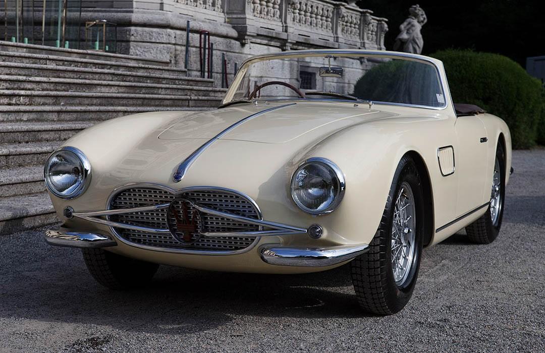 Konsep Retro Unik: Maserati 150 GT Spyder 1957