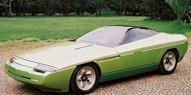 Konsep Retro Unik: Bertone Ramarro 1984