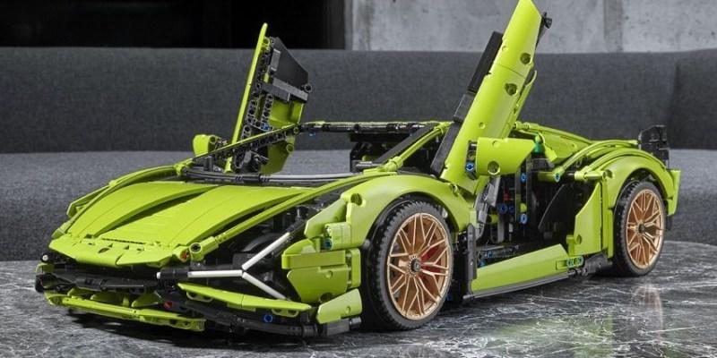 Lamborghini Versi Mainan Lego, Ini Wujud Kerennya!