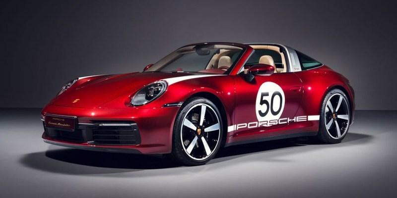 Porsche 911 Targa 4S Heritage Design Edition, Hanya 992 Unit