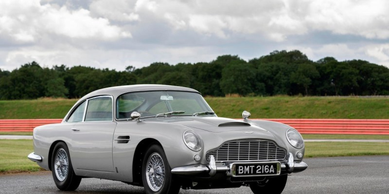 Inilah Detail  Aston Martin DB5 Goldfinger Continuation Car 2020