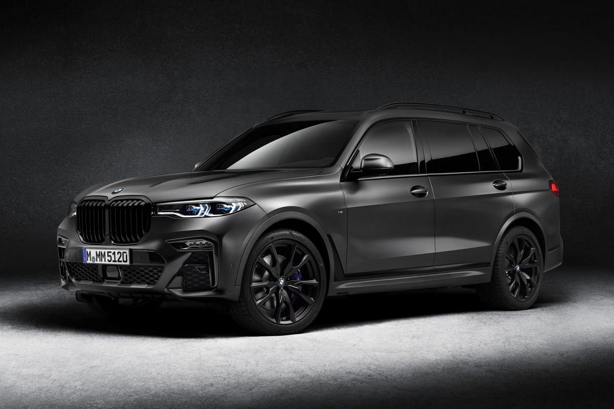 BMW X7 Dark Shadow Edition 2021, Hanya 500 unit Untuk Seluruh Dunia
