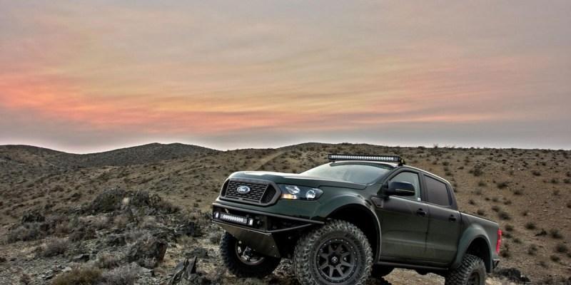 Ford Ranger, Siap Menggaruk Tanah