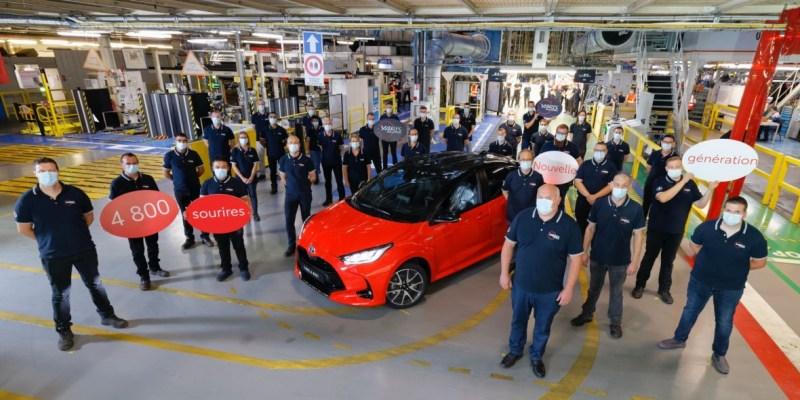 Toyota Mulai Produksi All New  Yaris Di Prancis