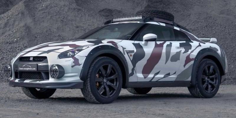 Nissan GT-R, Monster Penggaruk Tanah