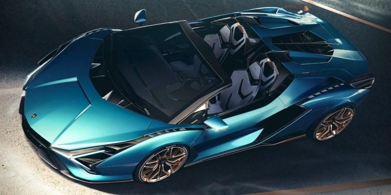 Lamborghini Siàn Roadster Hybrid, Sanggup Menggigit Aspal Hingga Kecepatan Diatas 350 km/jam!