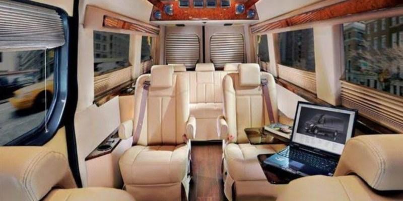 Inilah Tiga Modifikasi Interior Big Van Bergaya VIP !