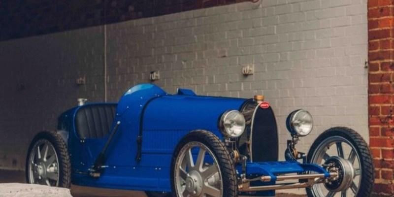 Bugatti Baby II, Roadster Elektrik Mini Untuk Memperingati 110 Tahun Eksistensi Bugatti