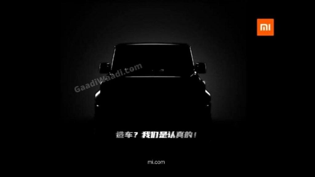 Sebar Teaser, Xiaomi Tertarik Bikin Mobil?