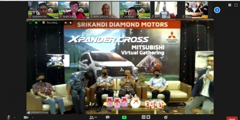 Dealer Mitsubishi Gelar Aktivitas Virtual Customer Gathering
