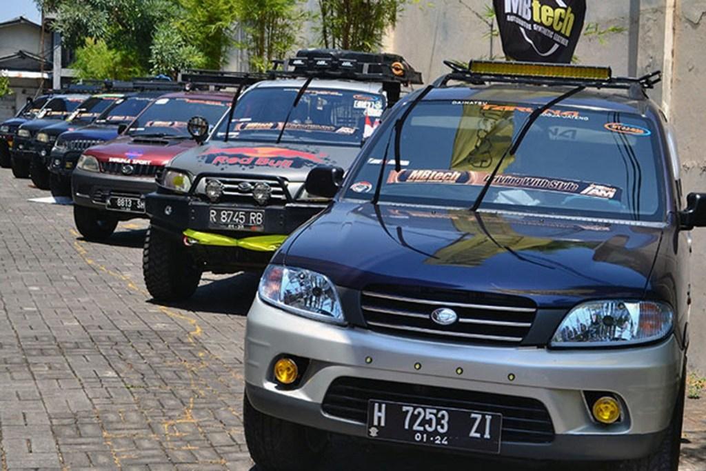 Taruna Owners Terjunkan 15 Mobil di IAM MBtech Semarang