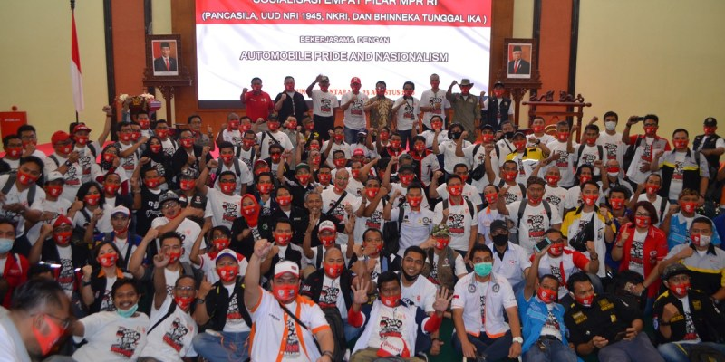 Antusiasme Pecinta Otomotif Ikuti Sosialisasi Empat Pilar di MPR RI