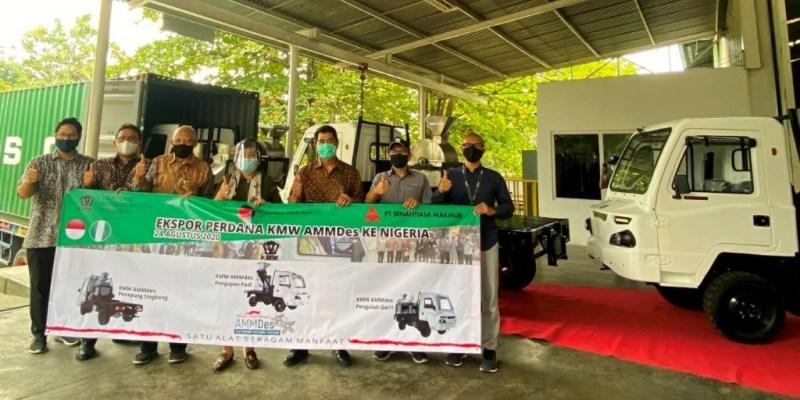 Ekspor Perdana KMW-AMMDes, Hasil Karya Anak Bangsa