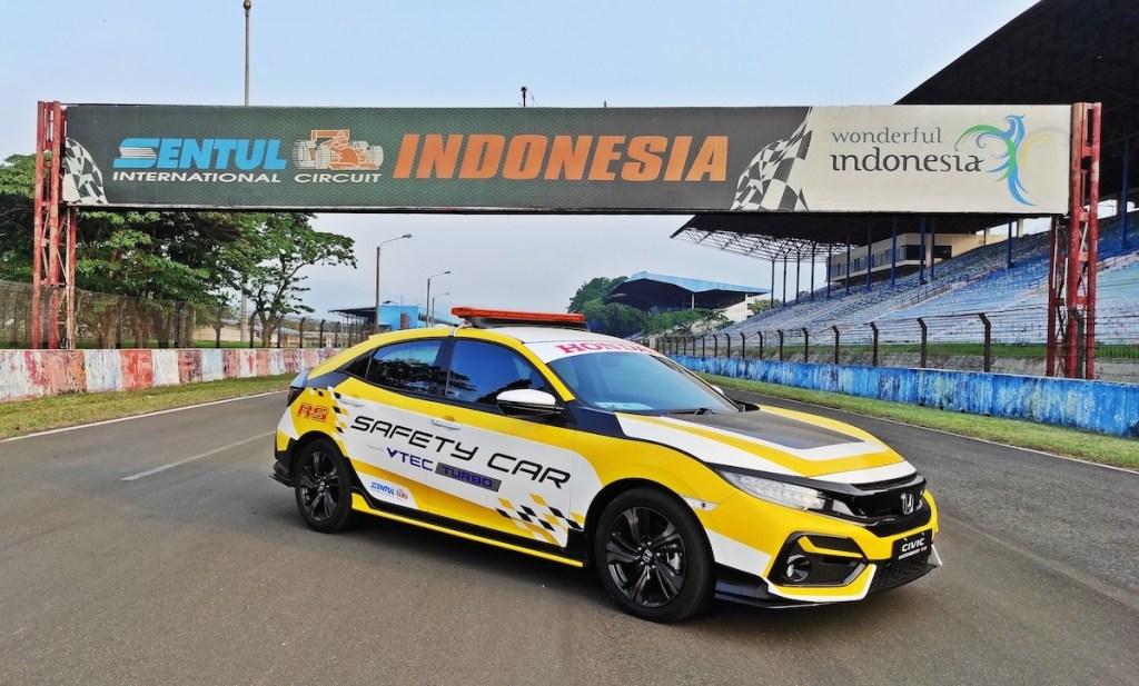 Honda Civic Turbo Resmi Jadi Official Car ISSOM 2020