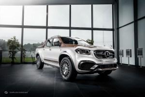 Pickup Design Membuat  Mercedes-Benz X-Class Tampil Modis