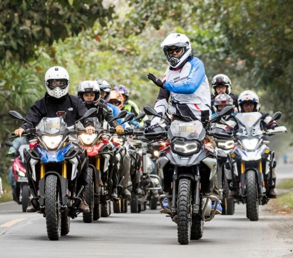 BMW Motorrad Gelar Turing Kemerdekaan Dan Peringati 40 Tahun Model GS